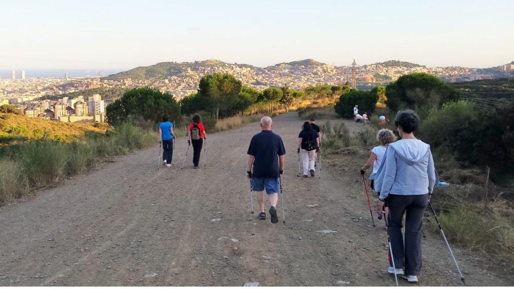BENDHORA_NORDIC_WALKING_BARCELONA_COLLSEROLA