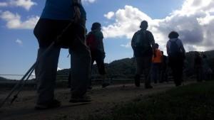 Sortida nordic walking pista forestal
