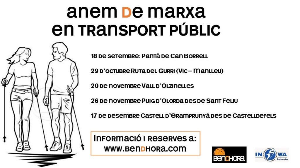 Anem de marxa en transport públic