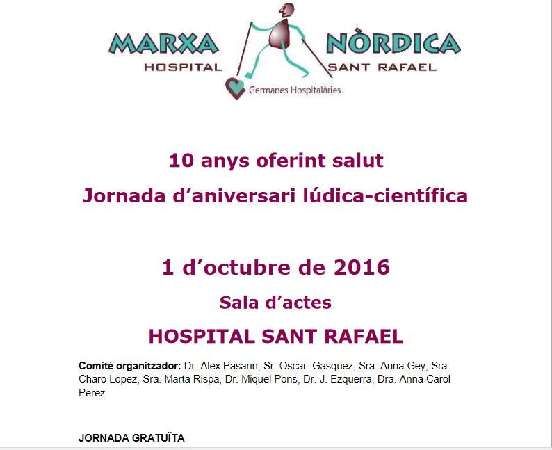 Jornada lúdica-científica a l'hospital de Sant Rafael