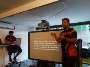 Foto grup competició Bendhora Presentació