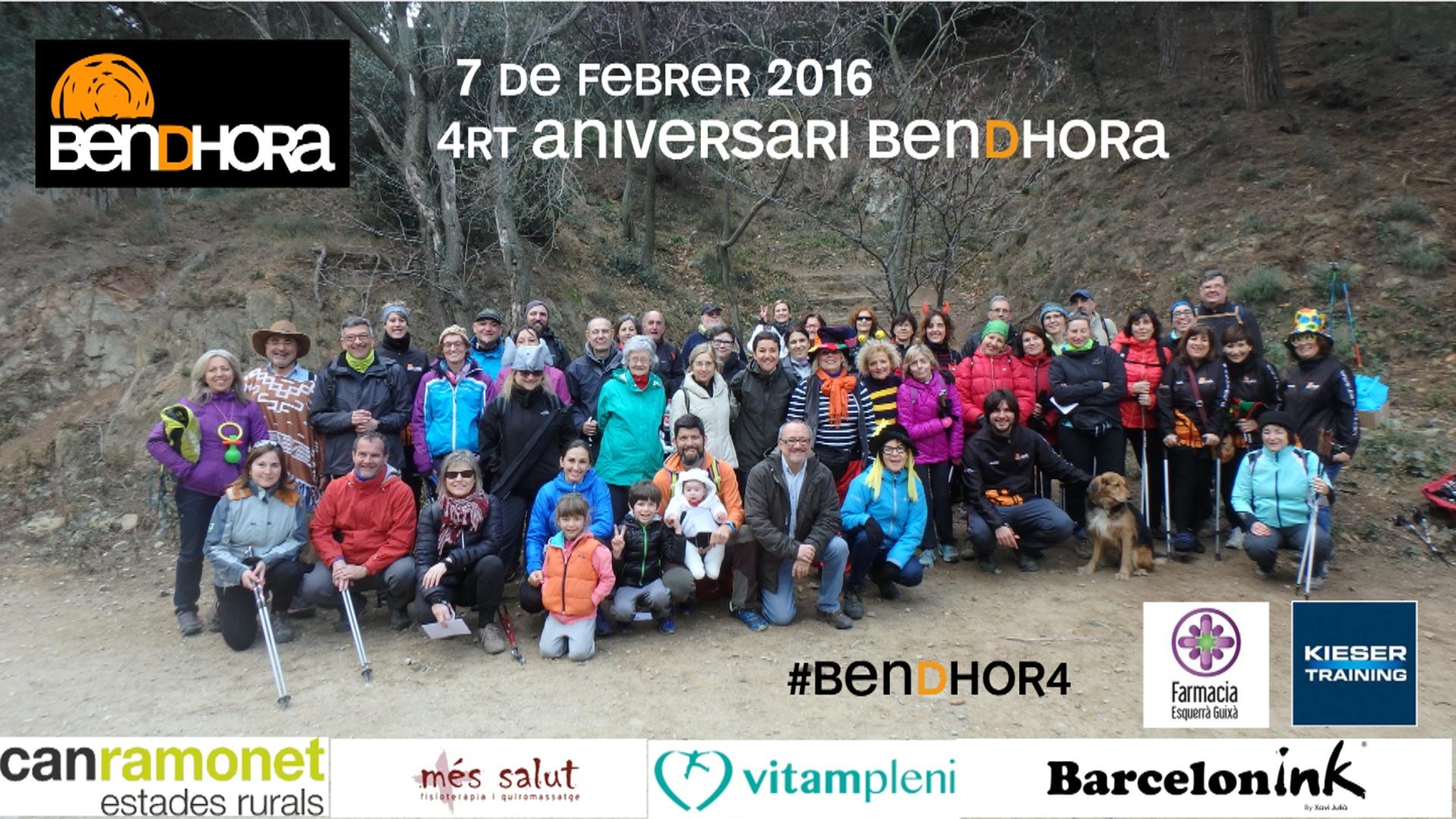 Resum 4rt aniversari Bendhora