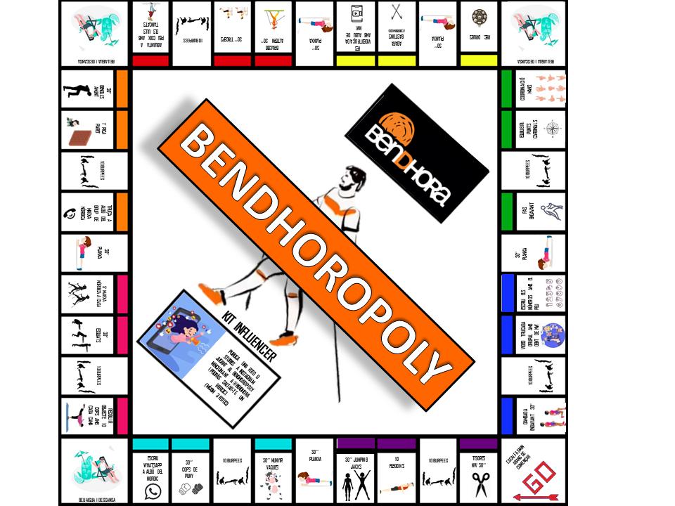 Bendhoropoly el nou joc del confinament!