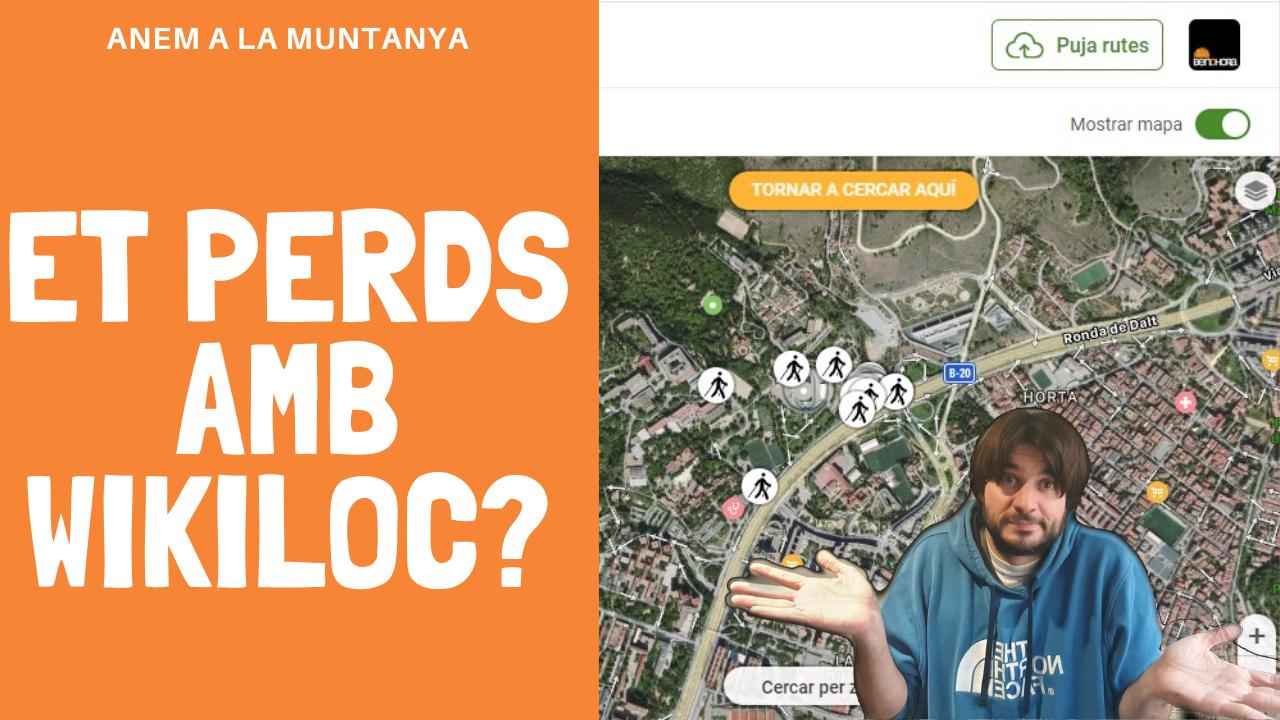 Anem a la muntanya: Primers passos a Wikiloc